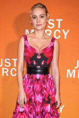 Brie Larson At Special NY Reception to Celebrate 'Just Mercy' in New York