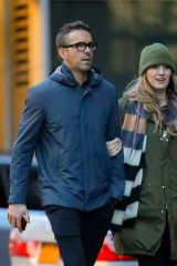 Blake Lively & Ryan Reynolds spotted while taking a stroll in New York City