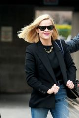 Reese Witherspoon Is all smiles as she heads to a business meeting in Los Angeles