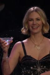 January Jones At Late Show with James Corden
