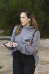 Jessica Alba Chats with colleagues as she leaves her office in Venice Beach