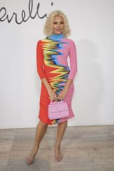 Pixie Lott At Schiaparelli Haute Couture Spring/Summer 2020 show in Paris