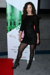 Sofia Milos At 2020 Filming Italy at the Harmony Gold in Los Angeles