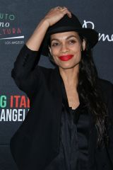 Rosario Dawson At 2020 Filming Italy at The Harmony Gold in LA