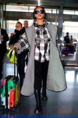 Rihanna Arrives at JFK Airport