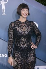 Pollyanna McIntosh At the red carpet of the 26th Annual Screen Actors Guild Awards held at the Shrine Auditorium in Los Angeles