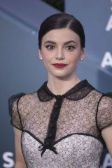 Francesca Reale At the red carpet of the 26th Annual Screen Actors Guild Awards held at the Shrine Auditorium in Los Angeles