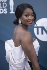 Lola Ogunnaike At the red carpet of the 26th Annual Screen Actors Guild Awards held at the Shrine Auditorium in Los Angeles