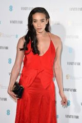 Hannah John-Kamen At Vanity Fair EE Rising Star BAFTAs Pre Party in London