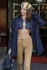 Bella Hadid Outside Le Royal Monceau in Paris