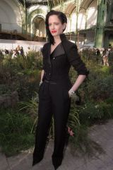 Eva Green At Chanel show, Front Row, Paris, France