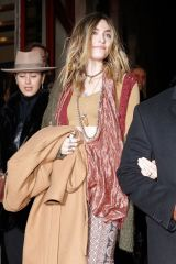 Paris Jackson Leaving the Jean-Paul Gaultier show in Paris