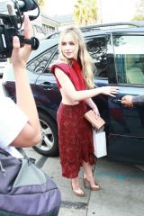 Sabrina Carpenter Leaving the 3rd Annual Women in Harmony Luncheon in West Hollywood