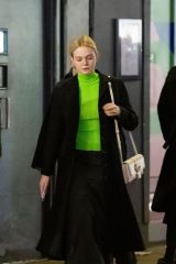 Dakota Fanning & Elle Fanning Out and about in London