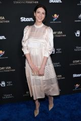 Caitriona Balfe At G'Day USA 2020 in Beverly Hills