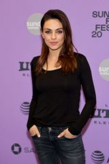 "Mila Kunis At ""Four Good Days"" Premiere - 2020 Sundance Film Festival"