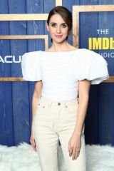 Alison Brie At IMDb Studio at Sundance Film Festival in Park City