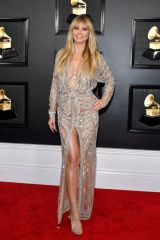 Heidi Klum At 62nd Annual Grammy Awards in Los Angeles