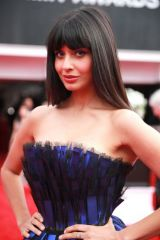 Jameela Jamil At 62nd Annual GRAMMY Awards at Staples Center in Los Angeles