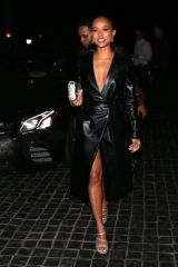 Karrueche Tran Have Dinner at 'Cecconi's' Restaurant in West Hollywood