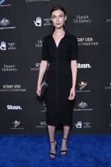 Tilda Cobham-Hervey At G'Day USA, Arrivals, Los Angeles