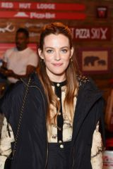 Riley Keough At Pizza Hut x Legion M Lounge during Sundance Film Festival in Park City