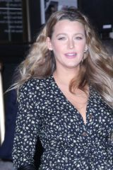 Blake Lively Seen out and about after 'The Rhythm Section' premiere in New York