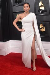 Erin Lim Attend the 62nd Annual GRAMMY Awards in Los Angeles
