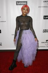 Maya B At Universal's Grammys After Party, Arrivals, Los Angeles