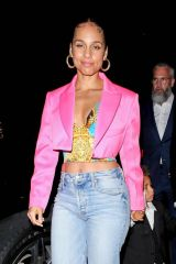 Alicia Keys Leaves a Post Grammy Event at Mr Chow in Beverly Hills