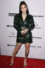 Kehlani At YouTube Originals' 'Justin Bieber: Seasons' premiere in Los Angeles
