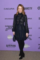 Miranda Otto At Downhill Premiere Sundance Film Festival Park City