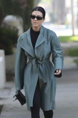 Kourtney Kardashian Out in Calabasas