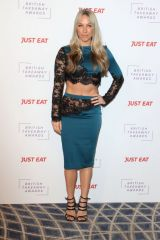 Chloe Madeley At British Takeaway Awards, Arrivals, The Savoy Hotel, London