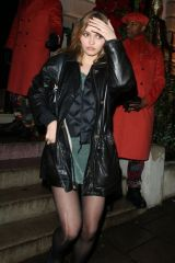 Lily-Rose Depp Late Night Partying at Annabel's in London