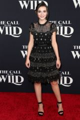 Lara McDonnell At 'The Call of the Wild' film premiere, El Capitan Theatre, Los Angeles