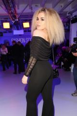 Tallia Storm At Pam Hogg show at London Fashion Week