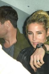 Chris Hemsworth and Elsa Pataky leaving Annabel's, London