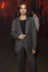 Hana Cross At Tommy Hilfiger show, Arrivals, Fall Winter 2020, London Fashion Week, UK