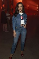 Amy Jackson At Tommy Hilfiger show, Arrivals, Fall Winter 2020, London Fashion Week, UK