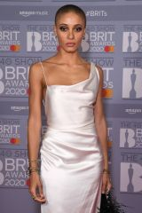 Adwoa Aboah At 40th Brit Awards, Arrivals, The O2 Arena, London