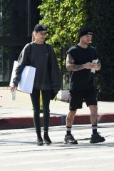 Josephine Skriver and Alexander DeLeon are Spotted After a Workout in Los Angeles