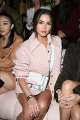 Olivia Culpo Attends the Fendi fashion show