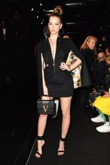 Barbara Palvin At Versace Fashion Show in Milan, Italy