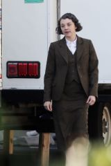 Natalie Dormer On the set of 'Penny Dreadful: City of Angels' in LA