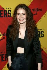 Megan Channell At 'Hunters' TV show premiere, DGA Theater, Los Angeles