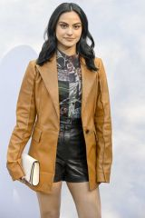 Camila Mendes At Salvatore Ferragamo show at Milan Fashion Week F/W 20/21