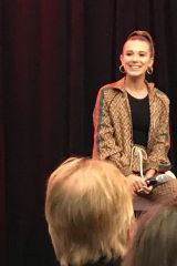 Millie Bobby Brown At SFM3 Panel at Hilton's in Paris, France