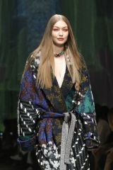 Gigi Hadid On the runway for Missoni in Milan