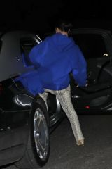 Kim Kardashian Leaving Paris Hilton's house after celebrating her 39th birthday party in Los Angeles